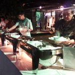 Proses makan malam bali wedding catering