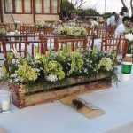 Meja bali wedding catering
