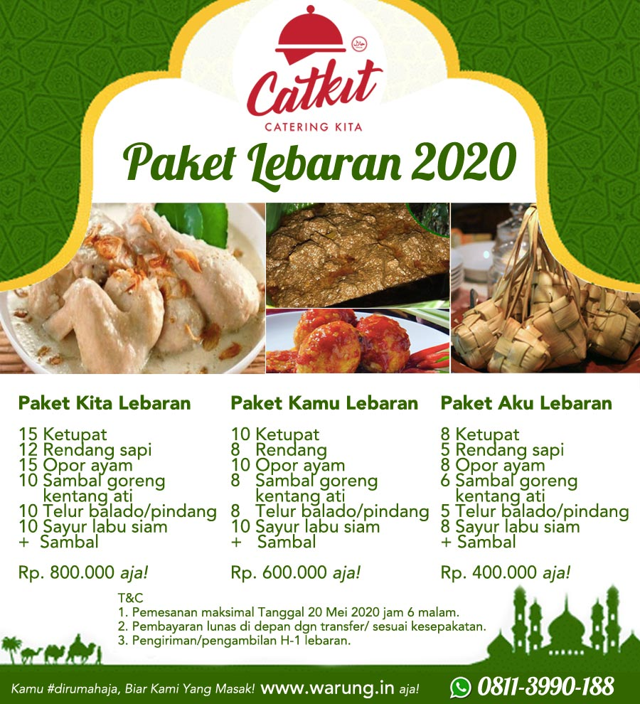 Paket catering lebaran di denpasar bali