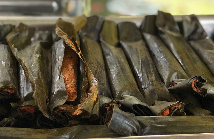 Pepes Ikan Tuna Masakan khas Bali