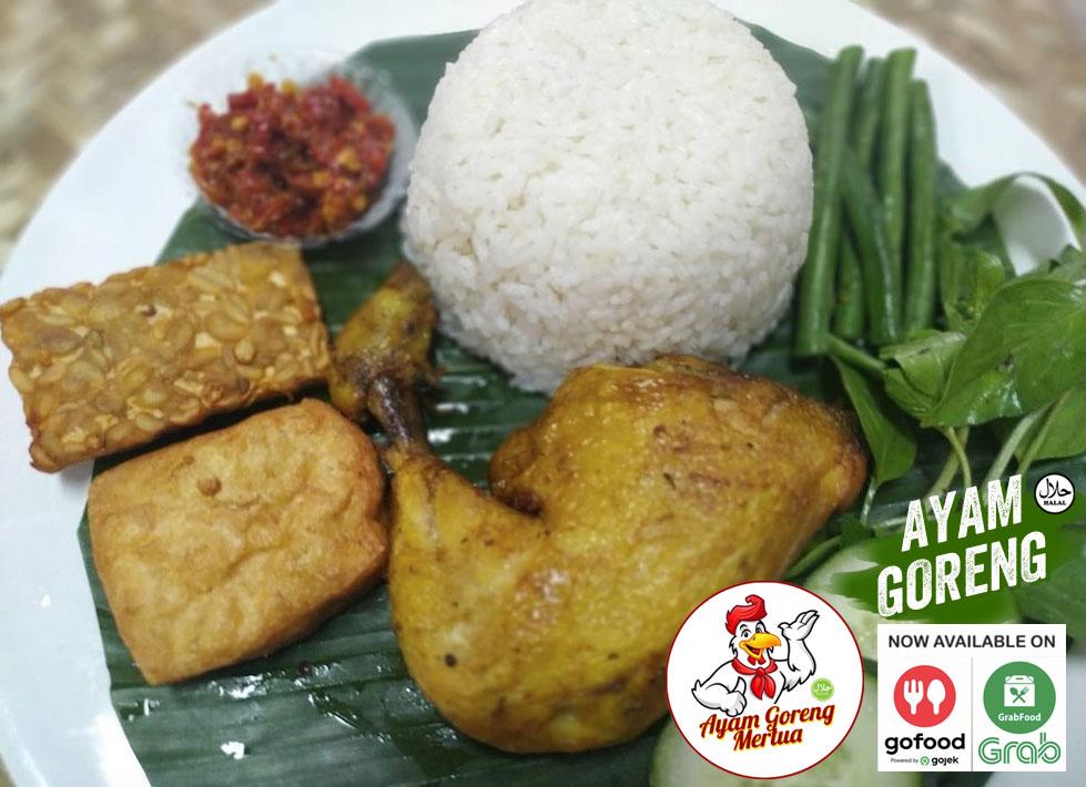 Ayam Goreng Makanan Enak di GoFood GrabFood Denpasar - Bali