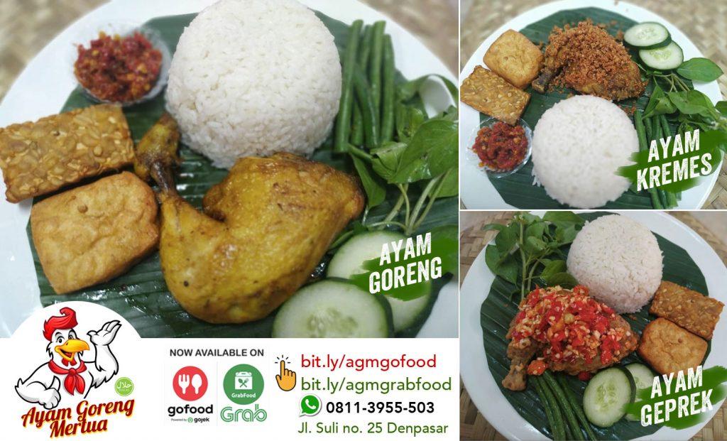 Ayam Goreng Mertua Makanan Enak di GoFood Denpasar