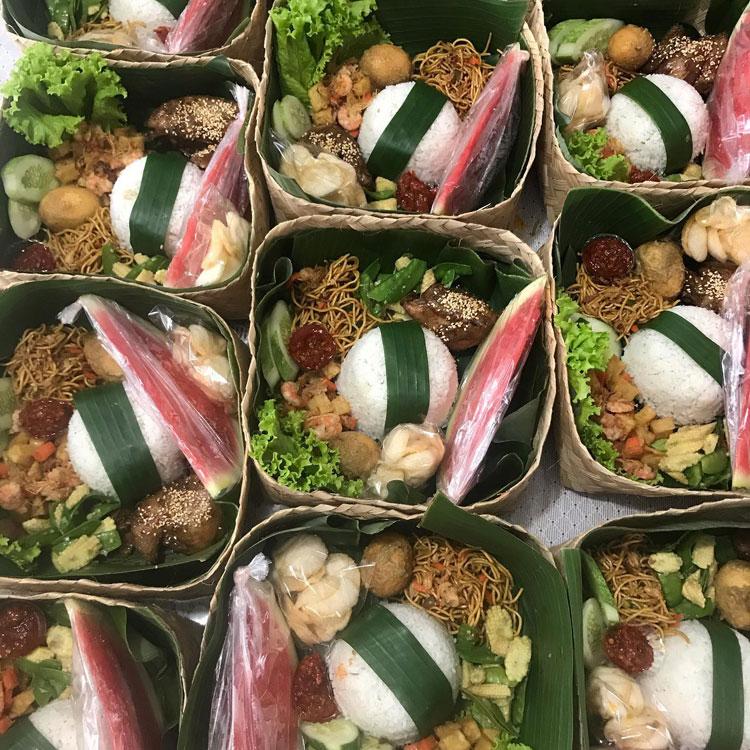 Nasi Besek Denpasar Bali