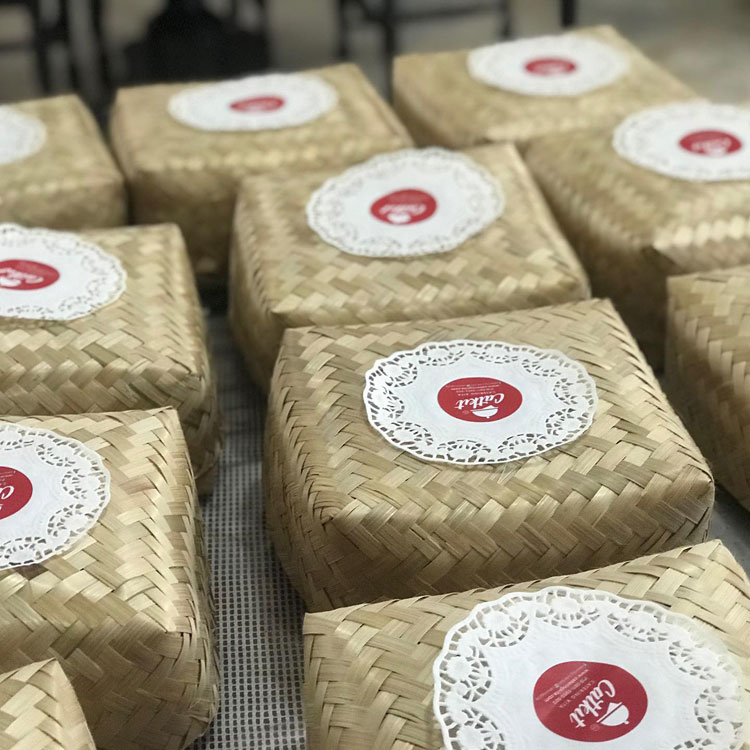 Nasi kotak besek halal denpasar Bali