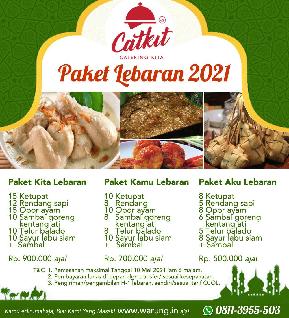 Paket catering lebaran denpasar bali 2021